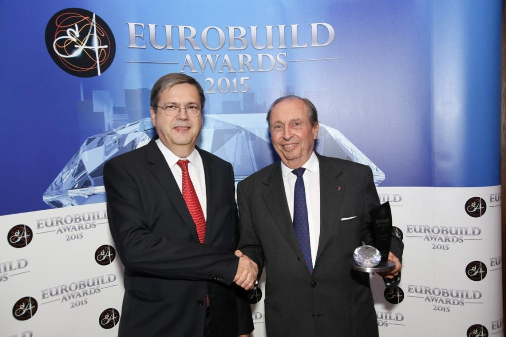 Eurobuild Awards 2015: tenants picked the best projects