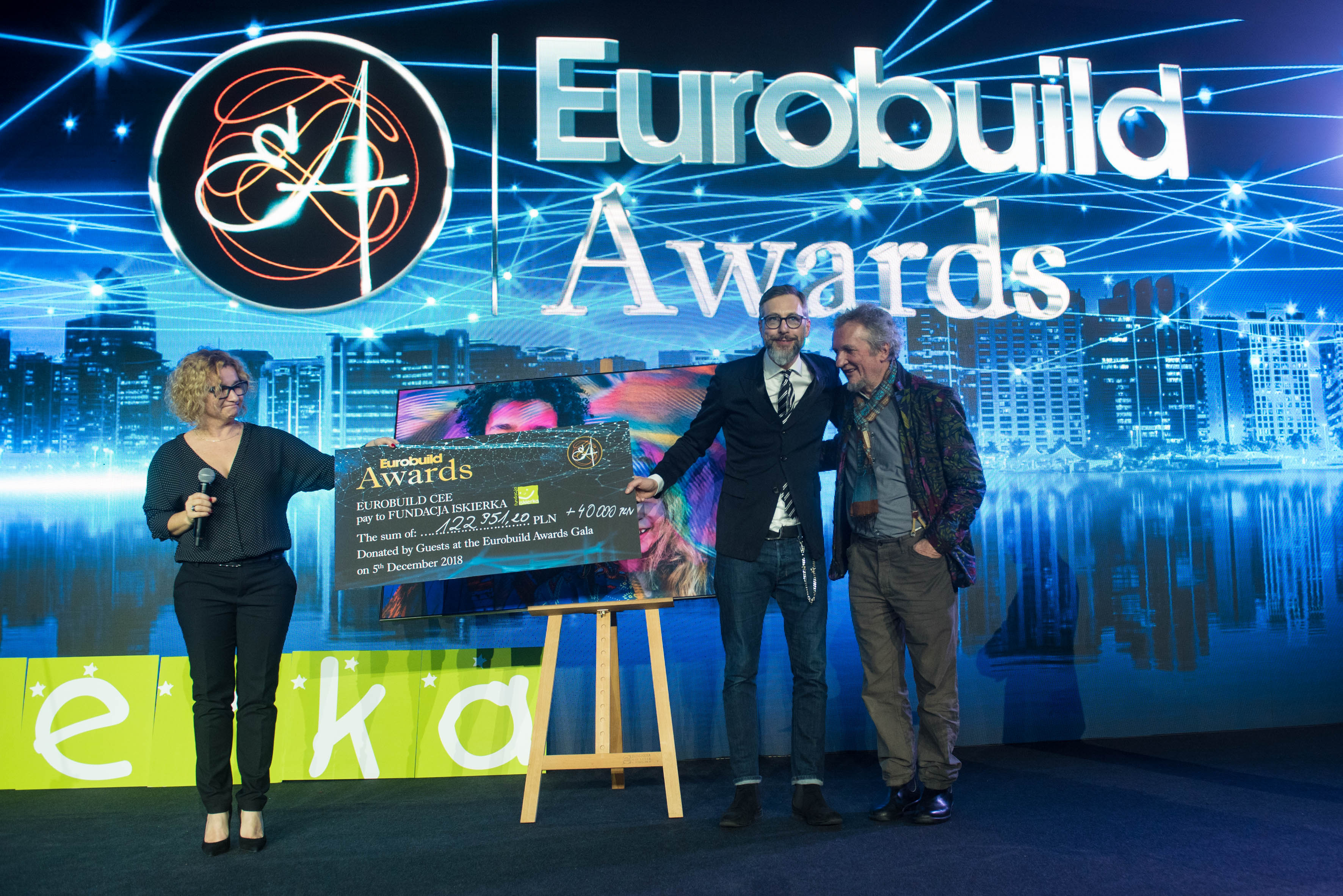 Eurobuild Awards 2018: almost PLN 163,000 was raised for the needs of seriously ill children