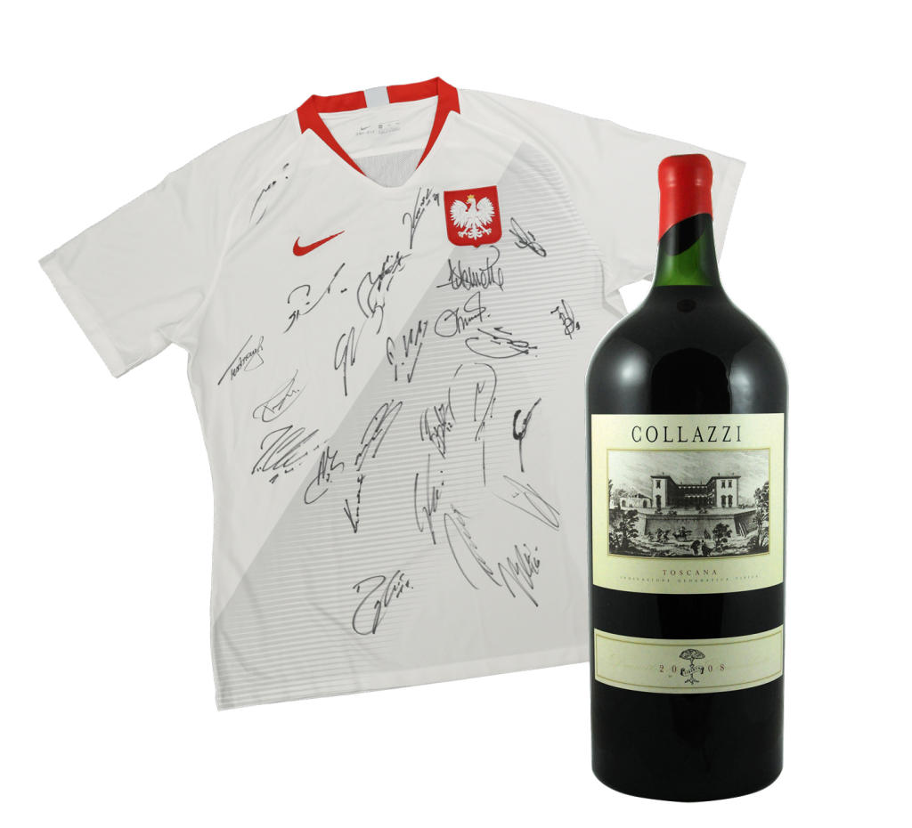 A signed jersey or a fine wine – who will be the highest bidder?