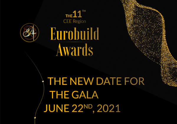 The new date for the Eurobuild Awards Gala